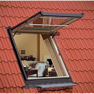 Окна, лестницы