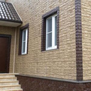 ● Панели фасадные, цокольные